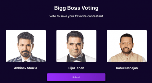 Bigg Boss 14 Voting for 11th Week Trend