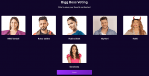bigg boss 14 week 18th voting trends