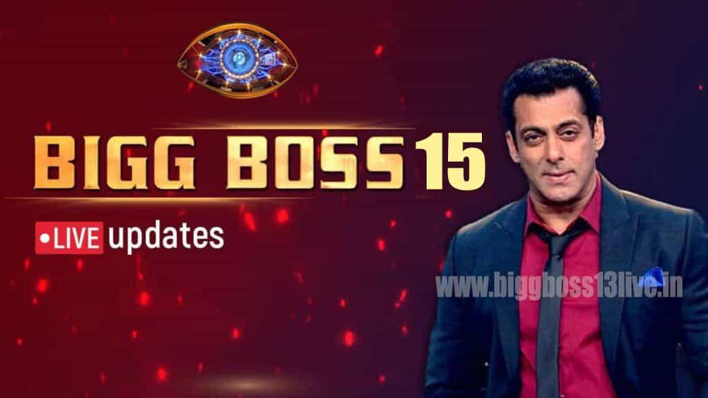 Bigg Boss 15 Live